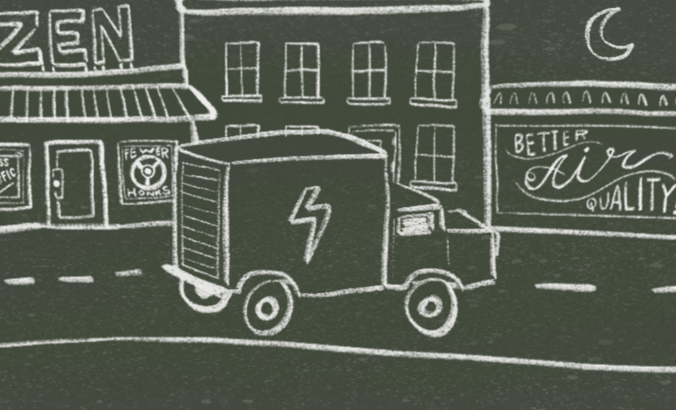 Urban change you won't hear coming: electric delivery fleets featured image