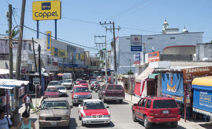 Coppel, Traffic, Fleet, Mexico, Retail