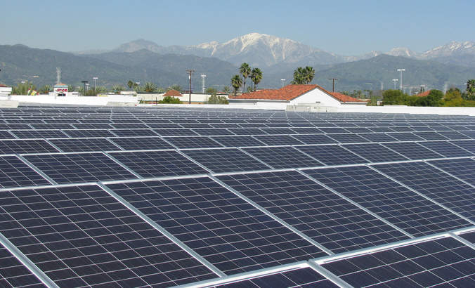Walmart solar roof