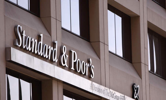 S&P Global/Standard & Poor's office building on April 14, 2012