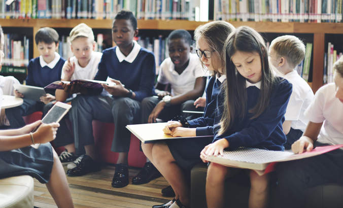 Reconfiguring classrooms to be more open can increase student's drive and productivity.