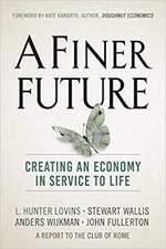 A Finer Future book cover