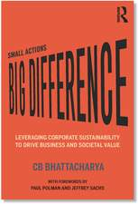 Small Actions, Big Difference book cover