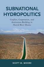 Shared River Basins Subnational Hydropolitics book cover