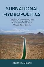 Shared River Basins Subnational Hydropolitics book cover
