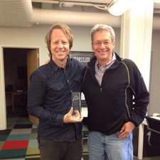 Joel Bach (left) and David Gelber (right).