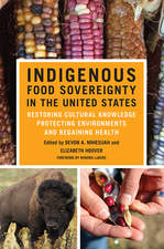 Indigenous Food Sovereignty in the United States book cover