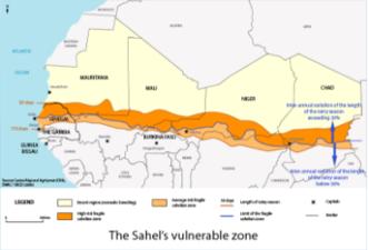 Sahel's vulnerable zone