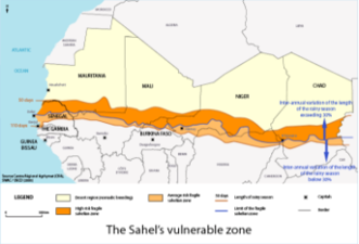 Sahel's vulnerable zone