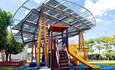 AU Optronics Helps Create a Frisbee-Shaped Solar Roof at Taipei Playground featured image