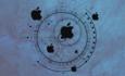 apple company and circular pattern