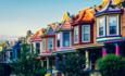 Baltimore row of houses