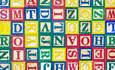 Alphabet block toys