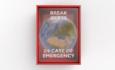 world inside of break in case of emergency box