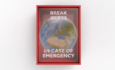 world inside of break in case of emergency box