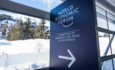 World Economic Forum sign at Davos