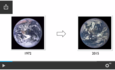 """Earth """"blue marble,"""" 1972 and now"""