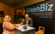 GreenBiz booth