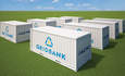 Alevo's GridBank lithium-ion battery can provide up to 2 megawatts of grid-scale storage capacity.