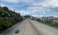 A nearly empty Interstate 280 in San Francisco March 22, 2020.