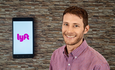 Lyft app and chief of sustainability Arons