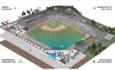 Minnesota St. Paul Saints CHS field green sports stadium