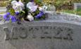 "Gravestone marked ""Mother"""