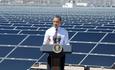 Barack Obama solar panels rewneable energy investment