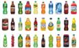 Dr Pepper soda plastic bottles