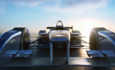 DHL motorsports formula e electric car racing