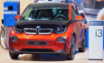 BMW i3 electric vehicle charging