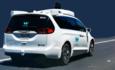 waymo autonomous vehicle  on road