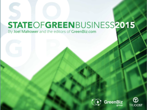 2015 State of Green Business Report