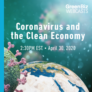 Coronavirus and the Clean Economy