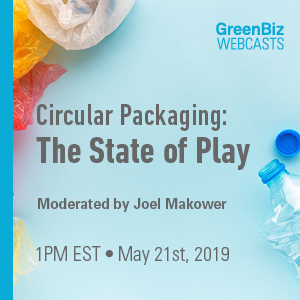 Circular Packaging: The State of Play Webcast with Joel Makower