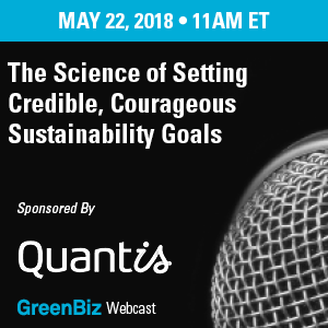 The Science of Setting Credible, Courageous Sustainability Goals