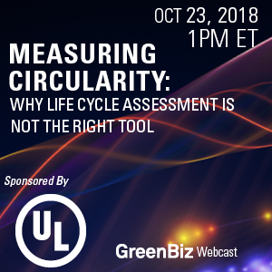 Measuring Circularity: Why Life-Cycle Assessment is Not the Right Tool