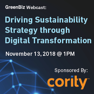Driving Sustainability Strategy through Digital Transformation Webcast