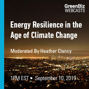 Energy Resilience Webcast