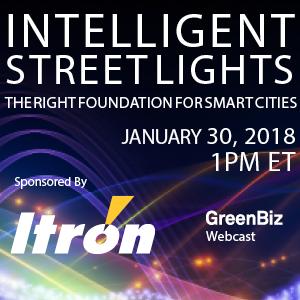 Intelligent Street Lights Webcast