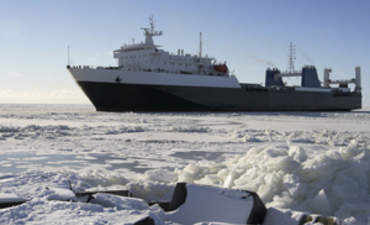 Will Melting Arctic Ice Provide a Silver Lining for Shipping's Emissions? featured image