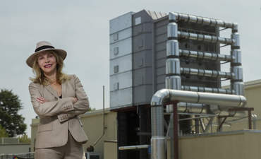 Global Thermostat, demo plant, Graciela Chichilnisky