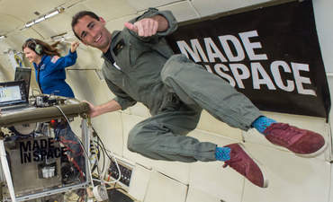 Made in Space gravity test