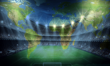 Earth and sports stadiums