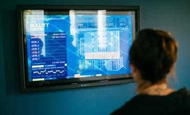 Bullitt Center system screen