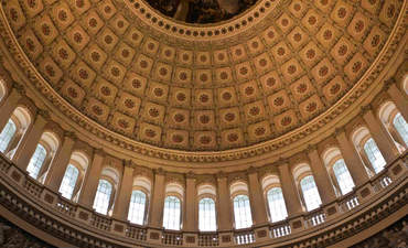 Interior of U.S. Capitol dome
