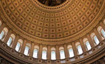Interior of U.S. Capitol dome