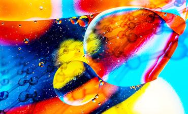 circles and molecules