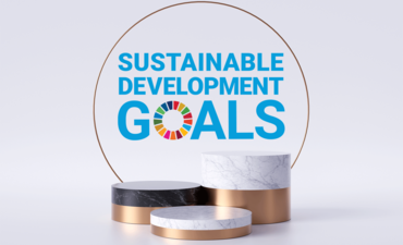 Sustainable Development Goals in circle