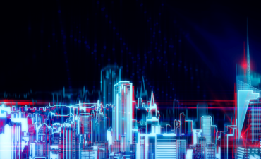 Cityscape in lights
